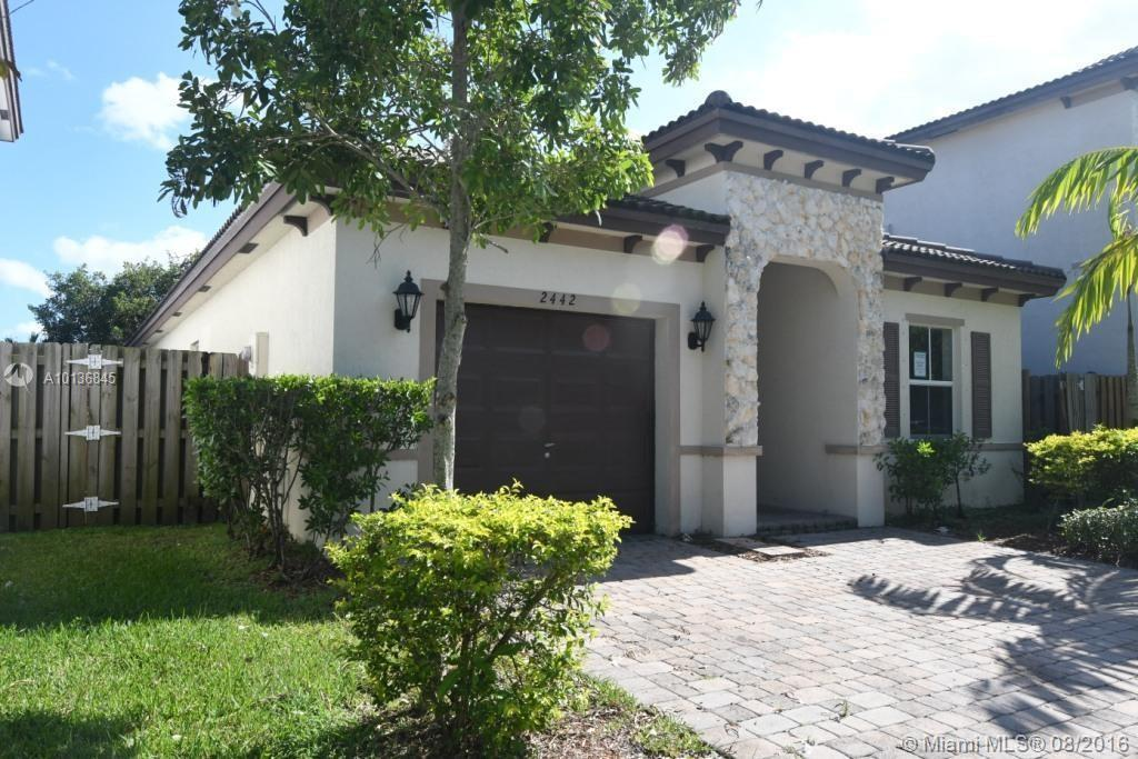 Photo of home for sale at 2442 3rd Ct, Homestead FL
