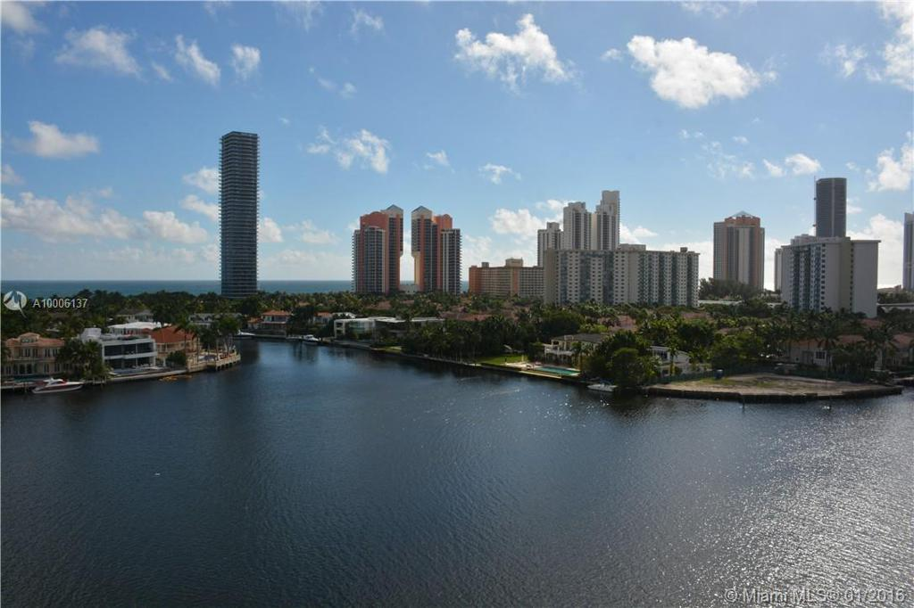 Photo of home for sale at 19707 Turnberry Way, Aventura FL