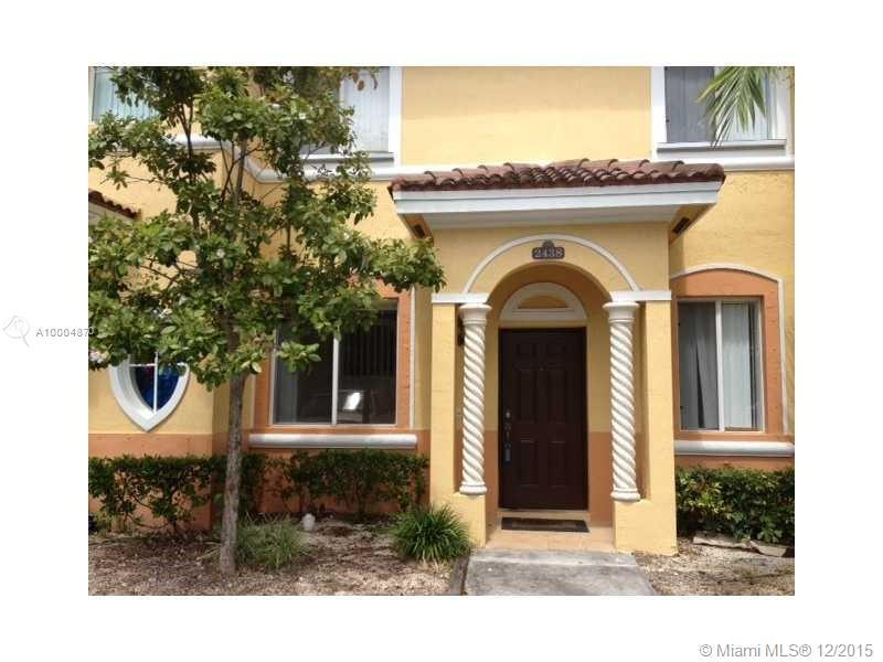 Photo of home for sale at 2438 14th Ave SE, Homestead FL