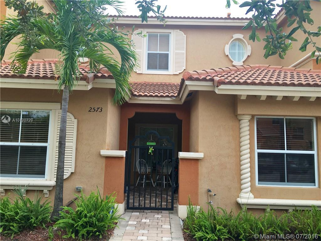 Photo of home for sale at 2573 121st Ter SW, Miramar FL
