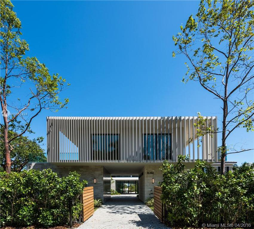 Photo of home for sale at 6411 Allison Rd, Miami Beach FL