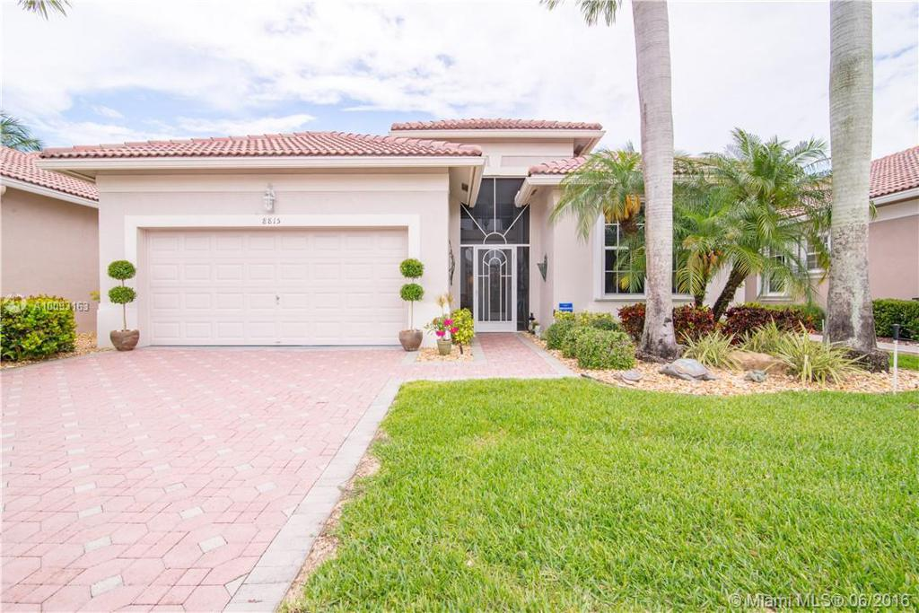 Photo of home for sale at 8815 Barrymore Ln, Boynton Beach FL