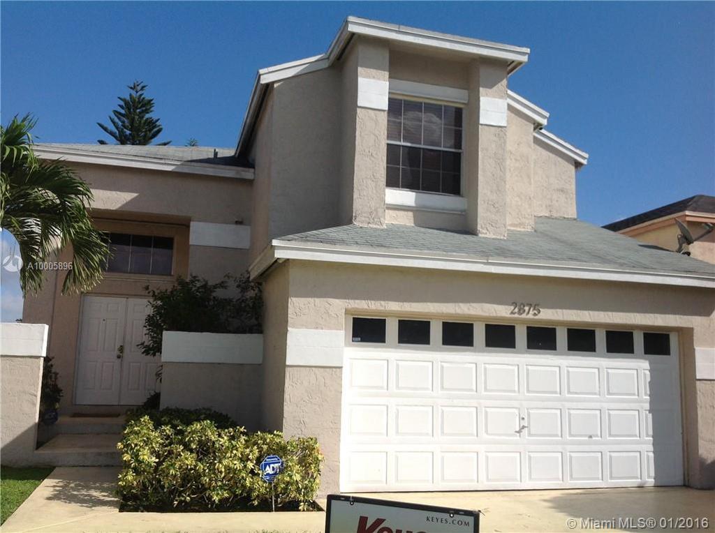 Photo of home for sale at 2875 River Run Cir, Miramar FL