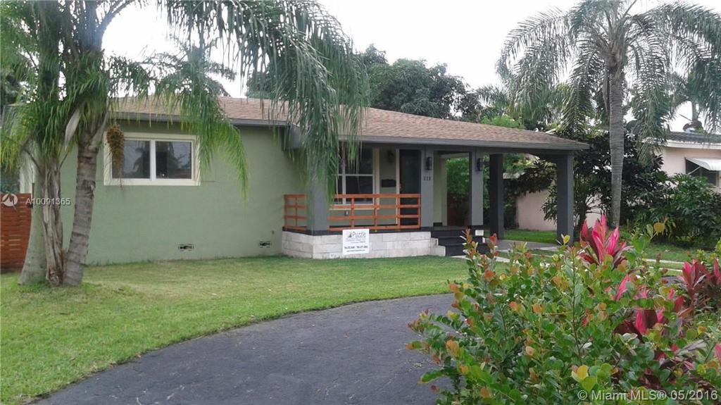 Photo of home for sale at 328 117th St NE, Miami FL