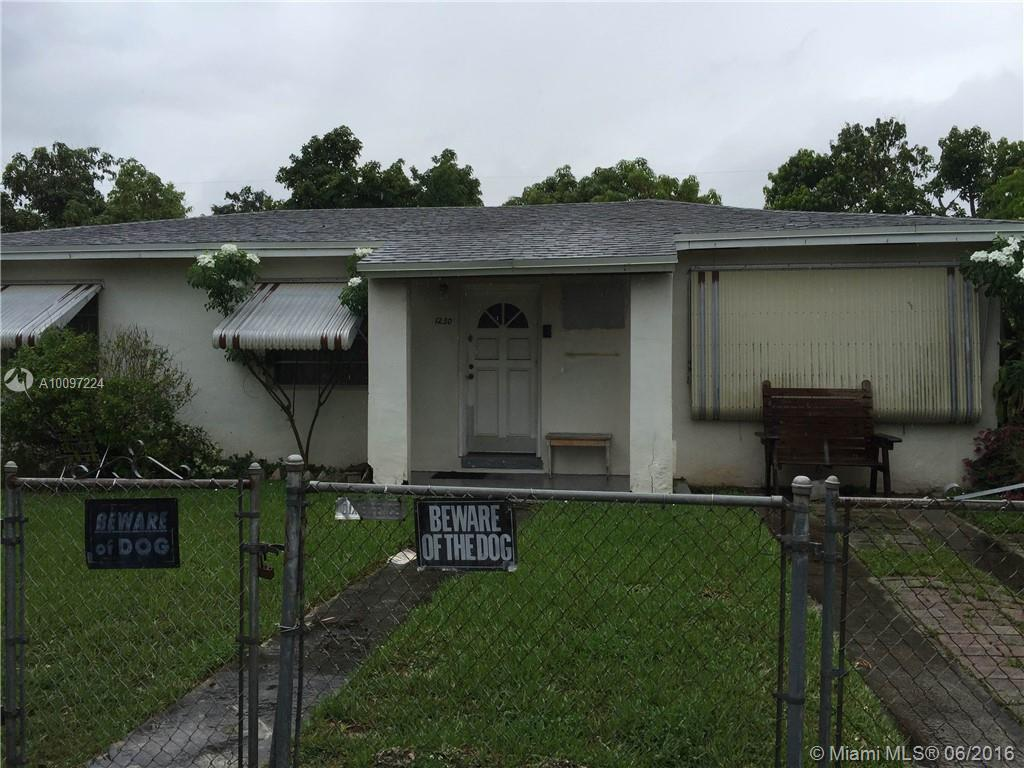 Photo of home for sale at 1230 73rd Pl SW, Miami FL