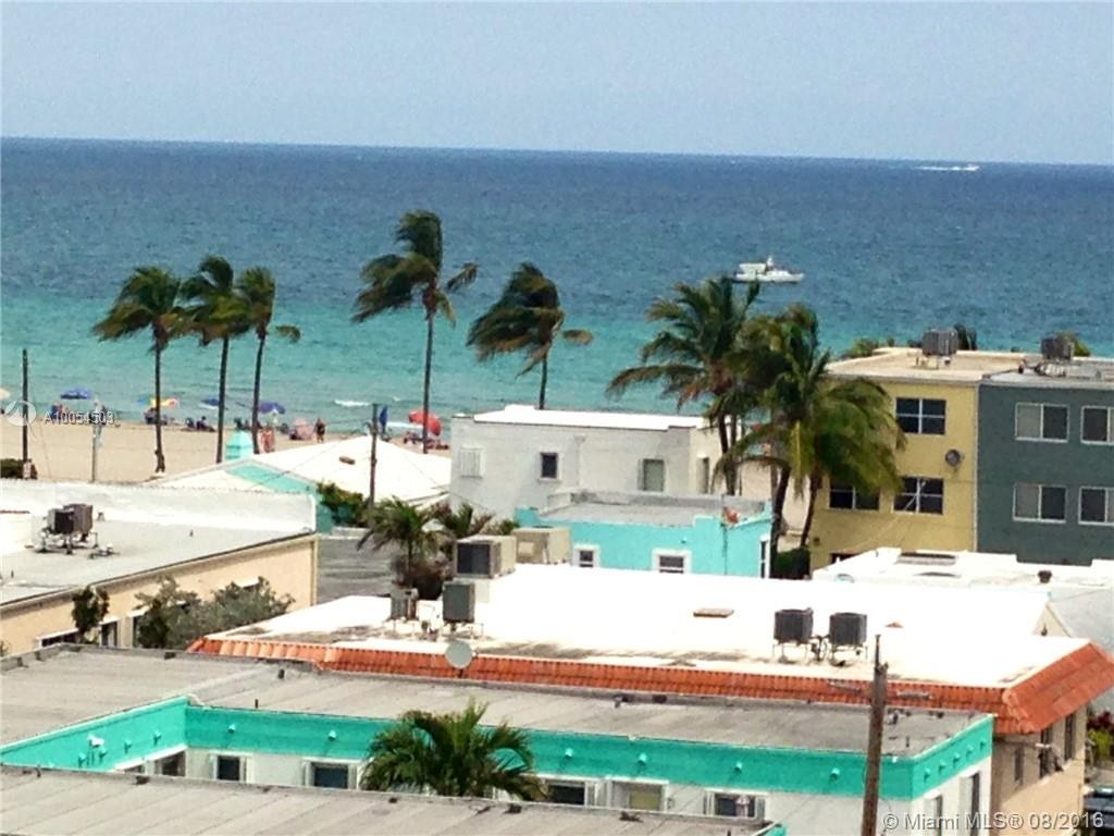 Photo of home for sale at 801 Ocean Dr S, Hollywood FL