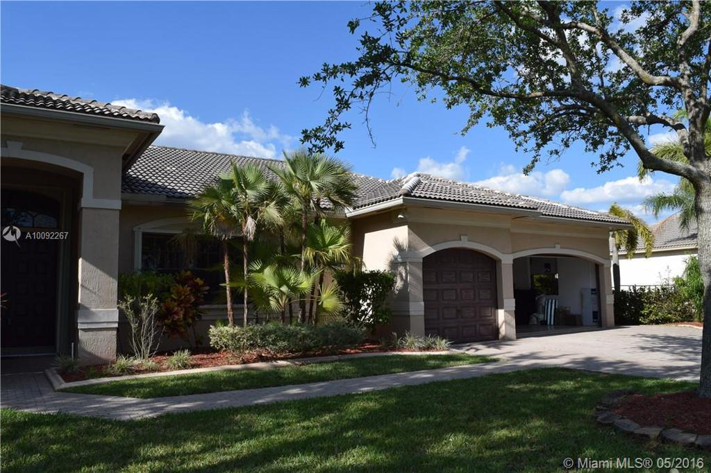 Photo of home for sale at 13361 44th St SW, Davie FL