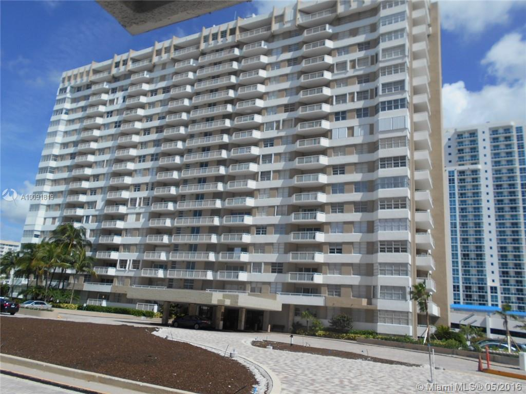 Photo of home for sale at 1985 OCEAN DR S, Hallandale FL