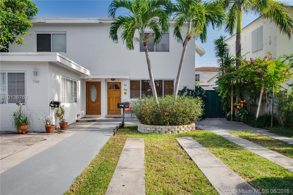 Photo of home for sale at 702 86th St, Miami FL