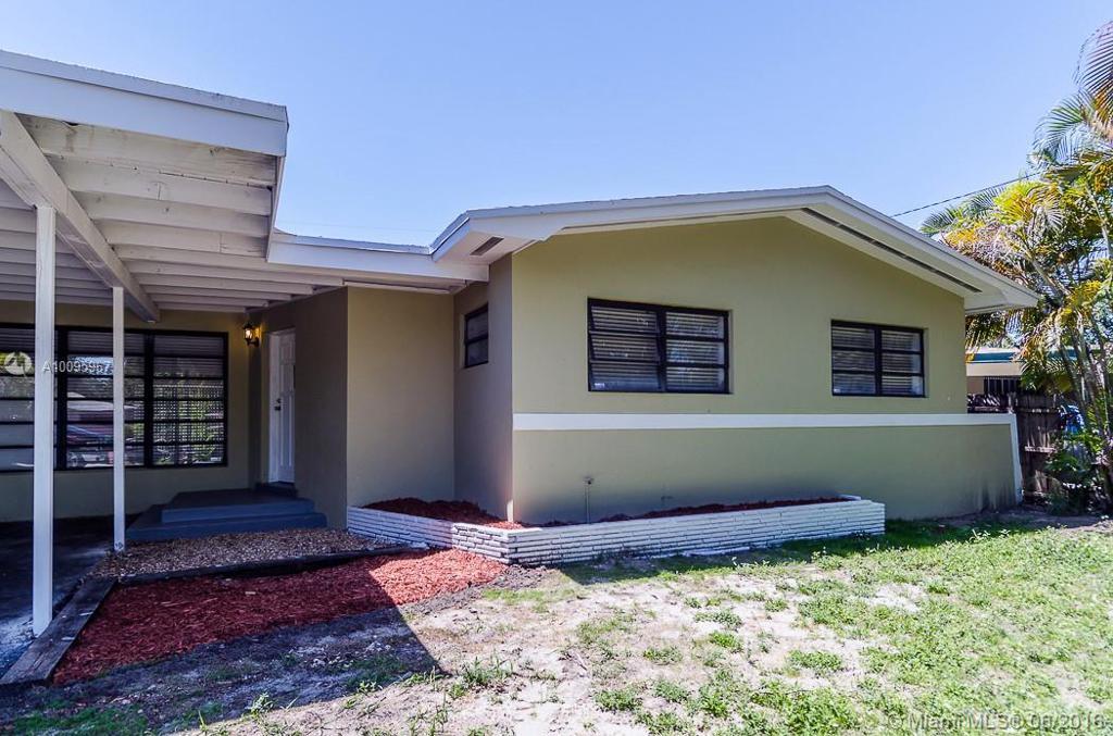 Photo of home for sale at 1120 110th Ter NE, Miami FL