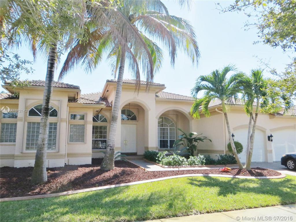 Photo of home for sale at 18680 39 Ct SW, Miramar FL