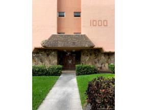 Property for sale at 1000 NE 14th Ave Unit: 312, Hallandale,  Florida 33009