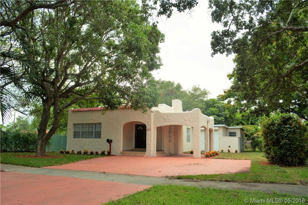 Photo of home for sale at 632 La Villa Dr, Miami Springs FL