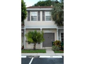 Property for sale at 3316 Confetti Ln Unit: 85-9, Margate,  Florida 33063