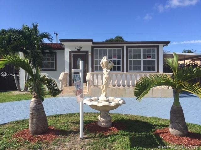 Photo of home for sale at 4970 Palm Ct E, Hialeah FL