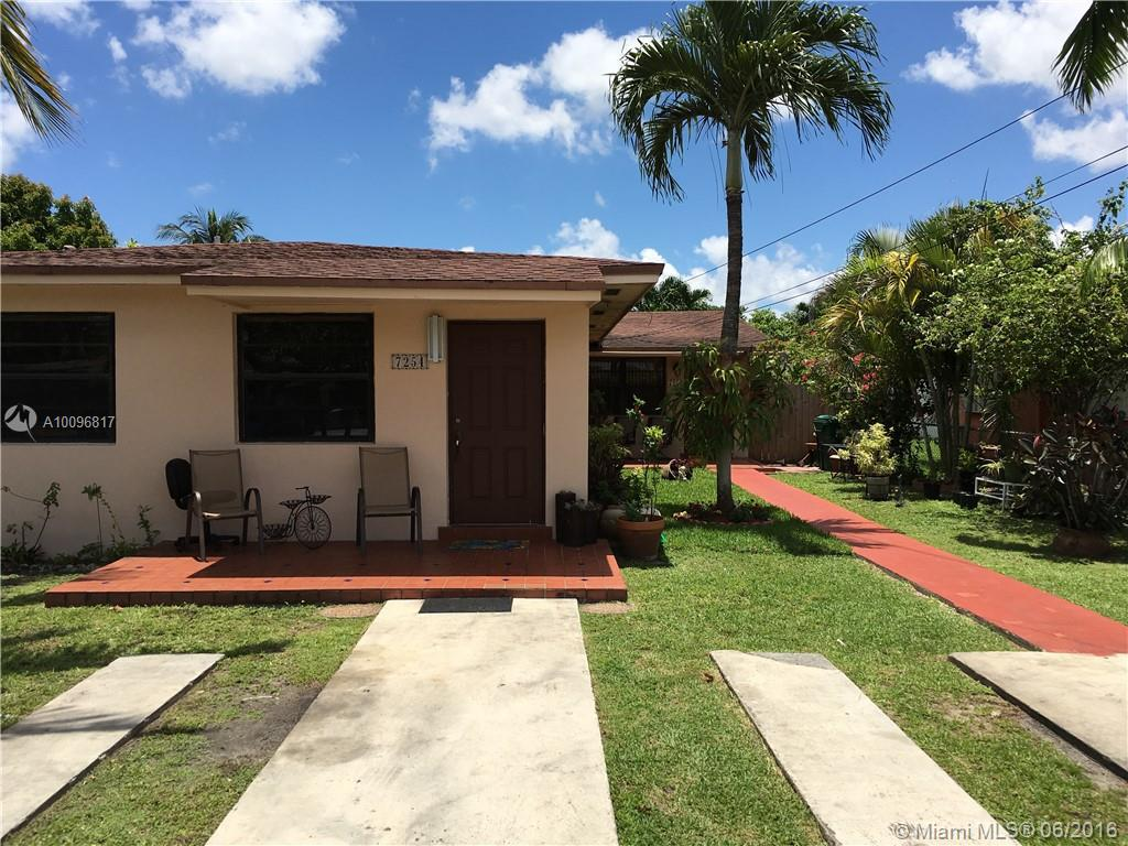 Photo of home for sale at 7254 3rd St NW, Miami FL