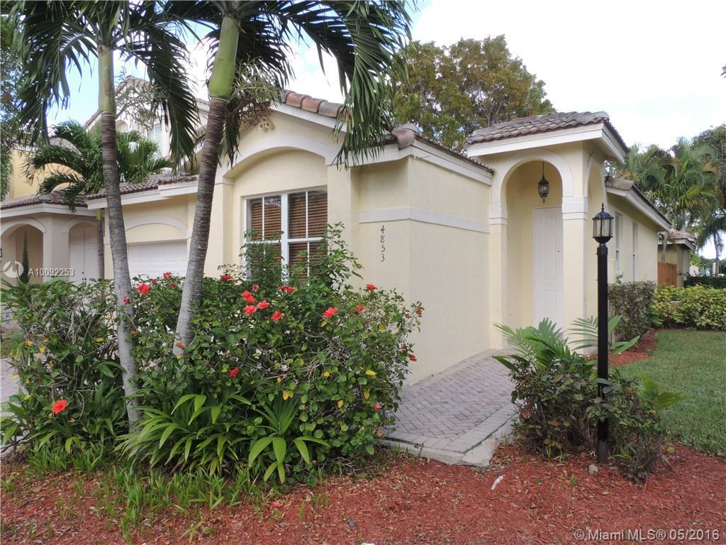 Photo of home for sale at 4853 107TH PATH NW, Doral FL