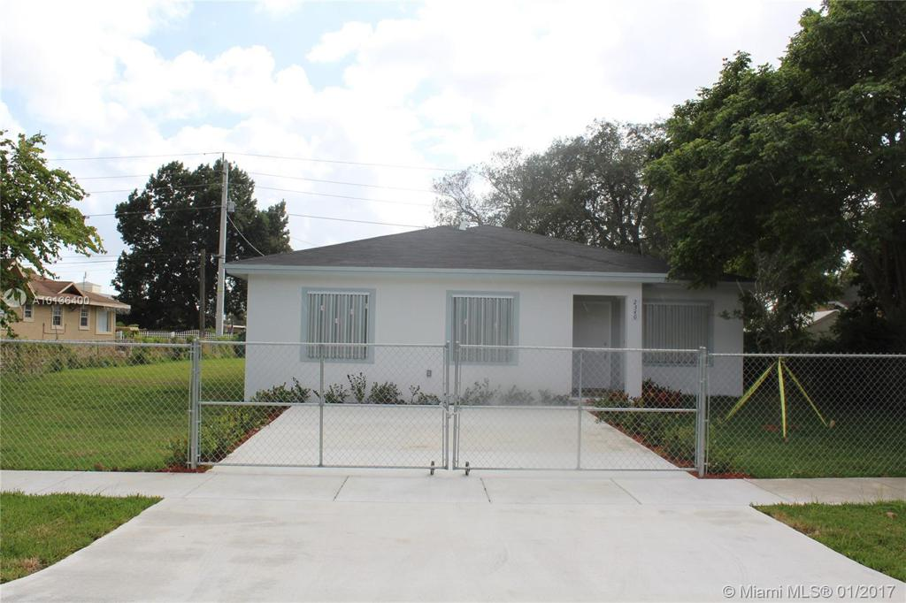 Photo of home for sale at 2346 81st Terr. New, Miami FL