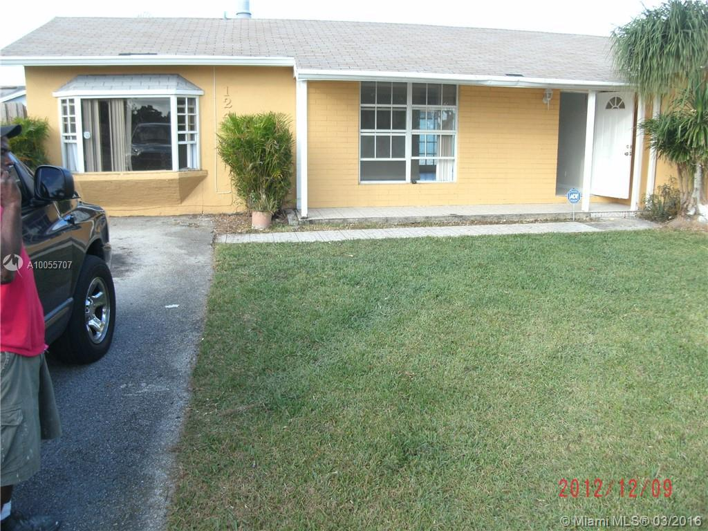 Photo of home for sale at 12419 259 Ter SW, Homestead FL