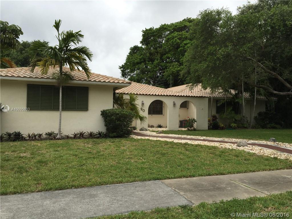 Photo of home for sale at 90 96 St NE, Miami Shores FL