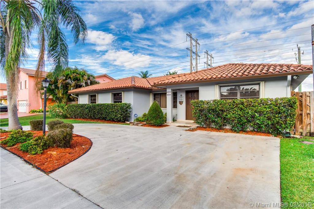 Photo of home for sale at 333 136th Pl NW, Miami FL