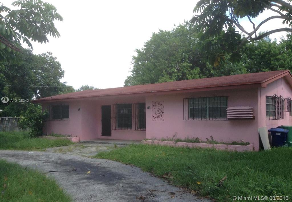 Photo of home for sale at 47 151st St NW, Miami FL