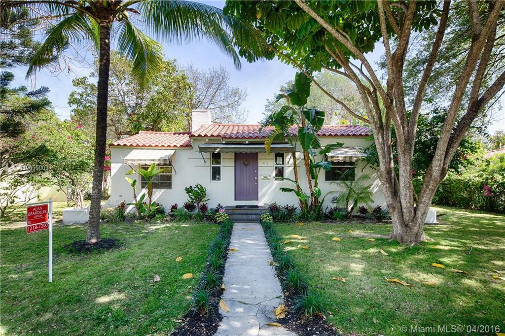 Photo of home for sale at 45 93rd St NW, Miami Shores FL