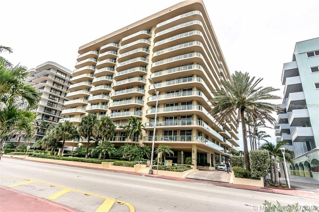 Photo of home for sale at 8855 Collins Ave, Surfside FL