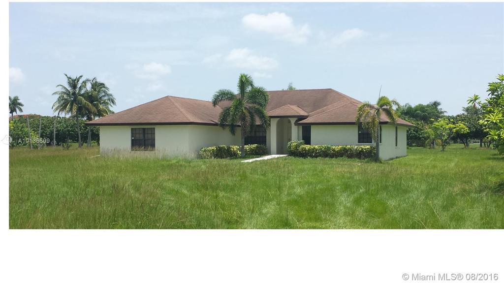 Photo of home for sale at 21775 258th St, Homestead FL