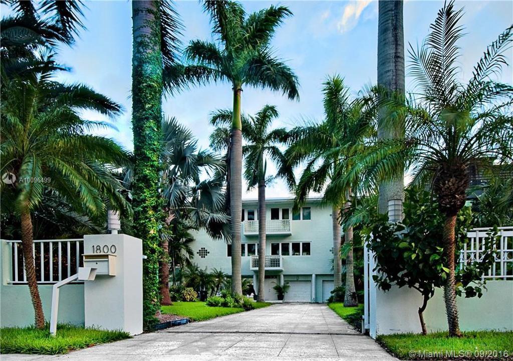 Photo of home for sale at 1800 Bayshore Lane S, Coconut Grove FL