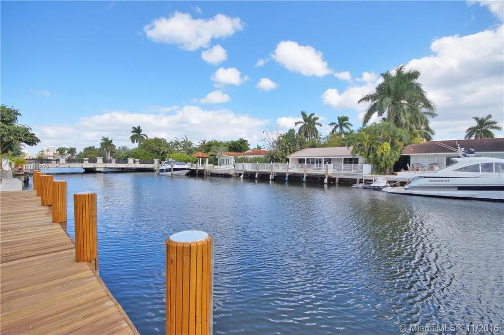 Photo of home for sale at 110 ISLAND DR S, Golden Beach FL