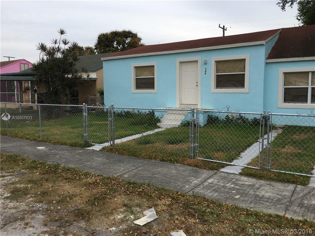 Photo of home for sale at 746 76th St NW, Miami FL