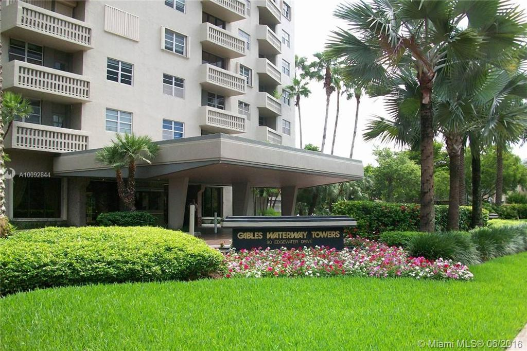 Photo of home for sale at 90 Edgewater Dr, Coral Gables FL