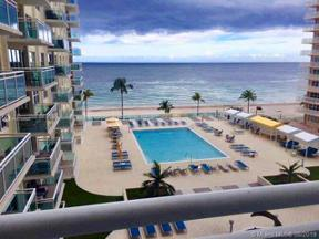 Property for sale at 3900 Galt Ocean Dr Unit: 505, Fort Lauderdale,  Florida 33308