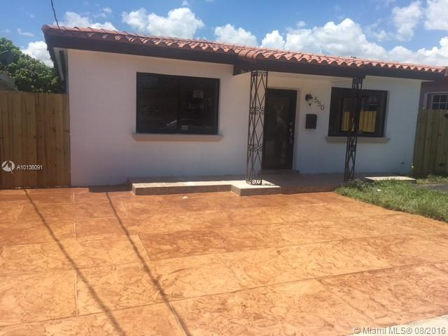 Photo of home for sale at 550 58th Ave NW, Miami FL