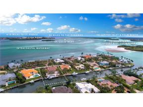 Property for sale at 11 Island Road, Sewalls Point,  Florida 34996