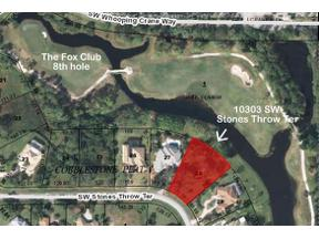 Property for sale at 10303 SW Stones Throw Terrace, Palm City,  FL 34990