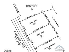 Property for sale at 0 Parkview Drive # Lot 4, Commerce,  Georgia 30529