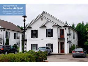 Property for sale at 341 Dahlonega Street Unit: 341, Cumming,  Georgia 30040