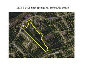 Property for sale at 1405 Rock Springs Road, Buford,  Georgia 30519