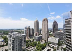 Property for sale at 1080 Peachtree Street Unit: 2801, Atlanta,  Georgia 30309