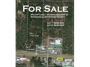 Property for sale at Springfield,  GA 31329