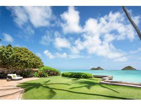 Property for sale at 1516 Mokulua Drive, Kailua,  Hawaii 96734
