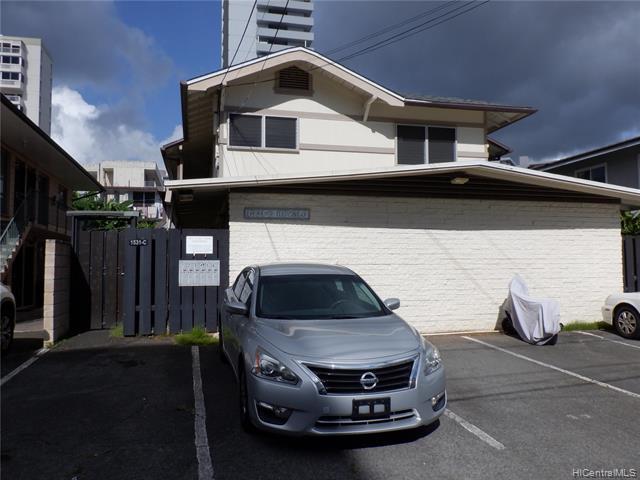 Photo of home for sale at 1531C Kewalo Street, Honolulu HI