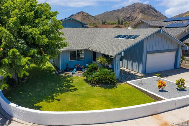 Photo of home for sale at 7545 Manulele Place, Honolulu HI