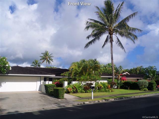 Photo of home for sale at 140 Kailuana Loop, Kailua HI