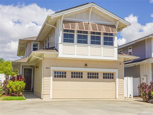 Photo of home for sale at 91-1422 Kaileolea Drive, Ewa Beach HI