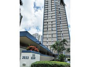 Property for sale at 2033 Nuuanu Avenue Unit: 17A, Honolulu,  Hawaii 96817