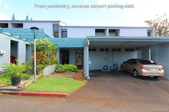 Photo of home for sale at 95-400 Hokukea Court, Mililani HI