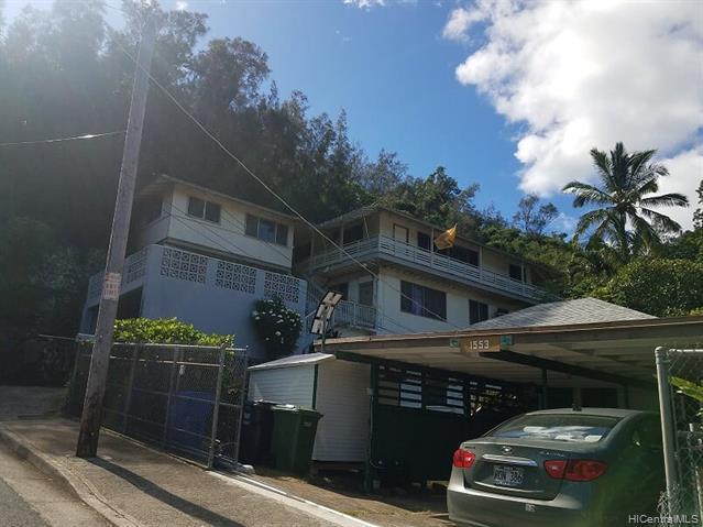 Photo of home for sale at 1551 Nobrega Street, Honolulu HI